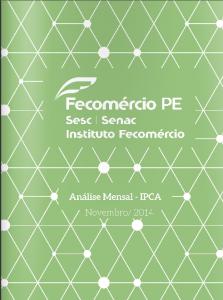 Fecomercio PE - IPCA 2014 11