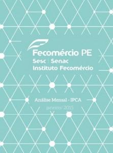 Fecomercio PE - IPCA 2015 01