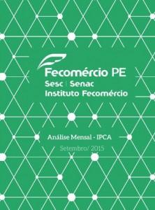 Fecomercio PE - IPCA 2015 09