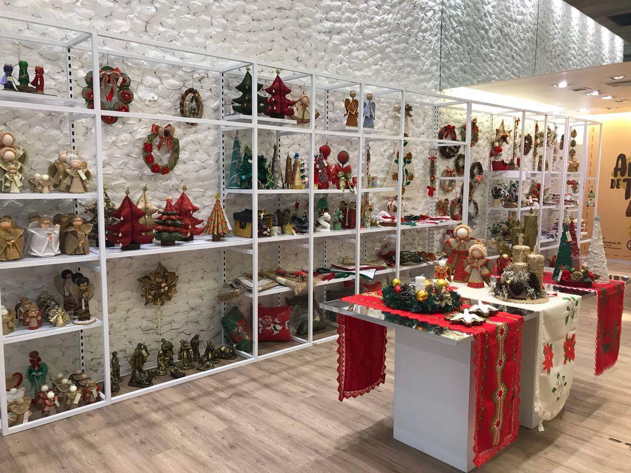 Armario Para Ropa Blanca ~ Instituto Fecomércio PE e JCPM inauguram, no RioMar, a loja Artesanato de Talentos Fecomércio PE